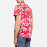Мужская рубашка Woolrich Bruce Cherry Red фото- 3