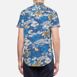 Мужская рубашка Woolrich Bruce Hawaiian Maritime Royal фото- 5