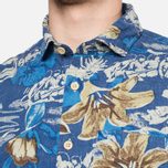 Мужская рубашка Woolrich Bruce Hawaiian Maritime Royal фото- 6