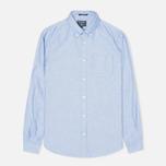 Мужская рубашка Woolrich Oxford Pocket Blue фото- 0