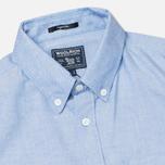 Мужская рубашка Woolrich Oxford Pocket Blue фото- 1