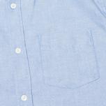 Мужская рубашка Woolrich Oxford Pocket Blue фото- 2