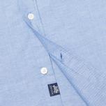 Мужская рубашка Woolrich Oxford Pocket Blue фото- 4
