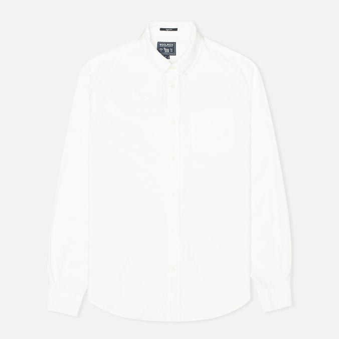Мужская рубашка Woolrich Oxford Pocket White