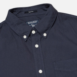 Woolrich Popeline Pocket Men's Shirt Navy photo- 1