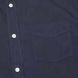 Woolrich Popeline Pocket Men's Shirt Navy photo- 2