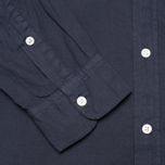 Woolrich Popeline Pocket Men's Shirt Navy photo- 3