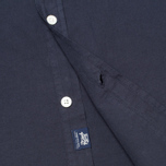 Woolrich Popeline Pocket Men's Shirt Navy photo- 4