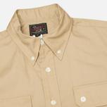 Мужская рубашка Woolrich Woolen Mills 3 Pocket Button Down SS Khaki фото- 1