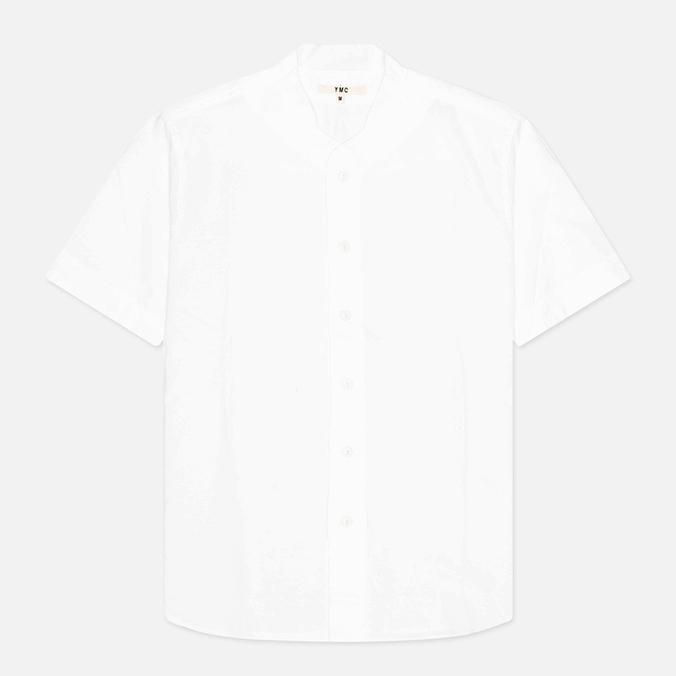 YMC Baseball Crisp Men's Shirt White