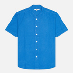 Мужская рубашка YMC Baseball Oxford Royal фото- 0