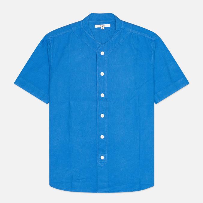 Мужская рубашка YMC Baseball Oxford Royal