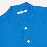 Мужская рубашка YMC Baseball Oxford Royal фото- 1