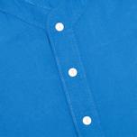Мужская рубашка YMC Baseball Oxford Royal фото- 2