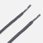 Шнурки светоотражающие Rope Lace Supply 3M Black фото- 2