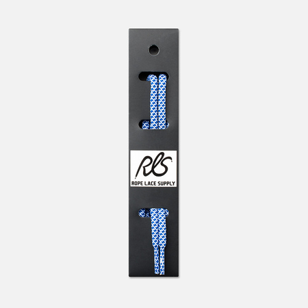 Rope Lace Supply Rope Laces Volt Blue/White