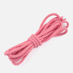 Rope Lace Supply Laces Red/White photo- 1