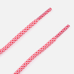 Rope Lace Supply Laces Red/White photo- 2