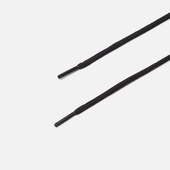 Шнурки Dr. Martens 65-cm Round Black/Silver