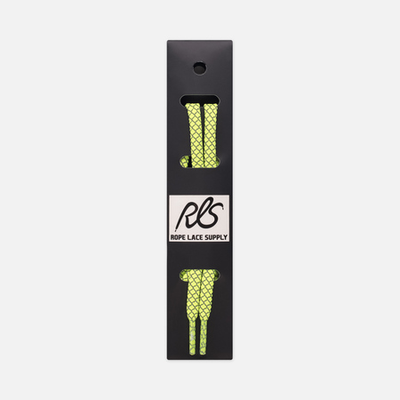 Шнурки светоотражающие Rope Lace Supply Flat Laces 3M Volt