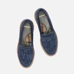 Женские ботинки Barbour Joanne Loafer Navy фото- 4