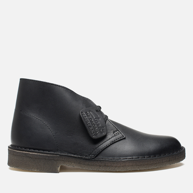 Мужские ботинки Clarks Originals Desert Boot Black
