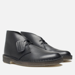 Мужские ботинки Clarks Originals Desert Boot Black фото- 1
