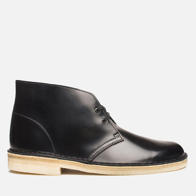 Мужские ботинки Clarks Originals Desert Boot Black Hishine