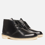 Мужские ботинки Clarks Originals Desert Boot Black Hishine фото- 1
