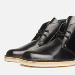 Мужские ботинки Clarks Originals Desert Boot Black Hishine фото- 5