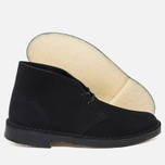 Мужские ботинки Clarks Originals Desert Boot Black Suede фото- 2