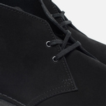 Clarks Originals Desert Boot Men's Shoes Black Suede photo- 5