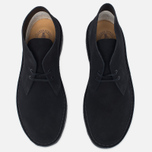 Мужские ботинки Clarks Originals Desert Boot Black Suede фото- 4