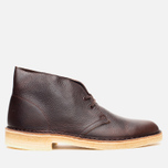 Мужские ботинки Clarks Originals Desert Boot Brown Tumbled Leather фото- 0