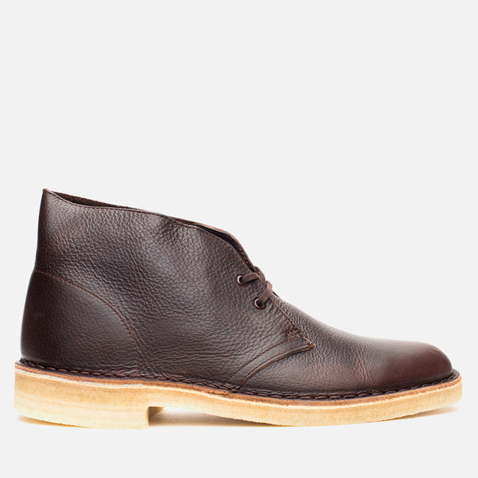 Мужские ботинки Clarks Originals Desert Boot Brown Tumbled Leather
