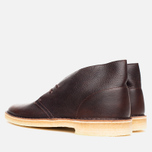 Мужские ботинки Clarks Originals Desert Boot Brown Tumbled Leather фото- 2