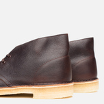 Мужские ботинки Clarks Originals Desert Boot Brown Tumbled Leather фото- 7