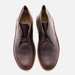 Мужские ботинки Clarks Originals Desert Boot Brown Tumbled Leather фото- 4