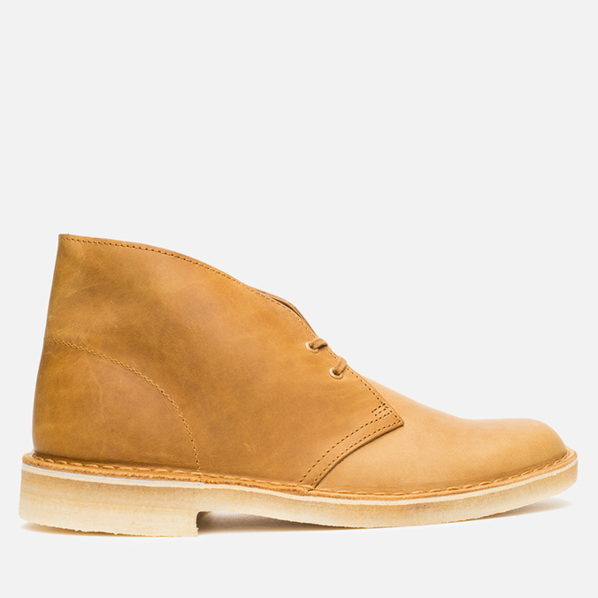 Мужские ботинки Clarks Originals Desert Boot Mustard Leather