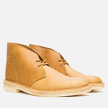 Мужские ботинки Clarks Originals Desert Boot Mustard Leather фото- 1