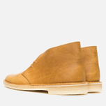 Мужские ботинки Clarks Originals Desert Boot Mustard Leather фото- 2