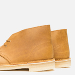 Мужские ботинки Clarks Originals Desert Boot Mustard Leather фото- 7