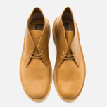 Мужские ботинки Clarks Originals Desert Boot Mustard Leather фото- 4