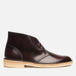 Мужские ботинки Clarks Originals Desert Boot Oxblood фото- 0