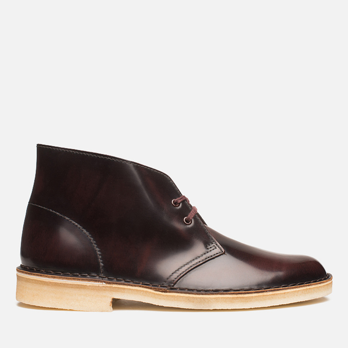 Мужские ботинки Clarks Originals Desert Boot Oxblood