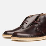 Мужские ботинки Clarks Originals Desert Boot Oxblood фото- 5