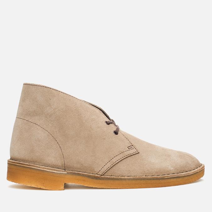 Мужские ботинки Clarks Originals Desert Boot Wolf Suede