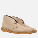 Мужские ботинки Clarks Originals Desert Boot Wolf Suede фото- 1