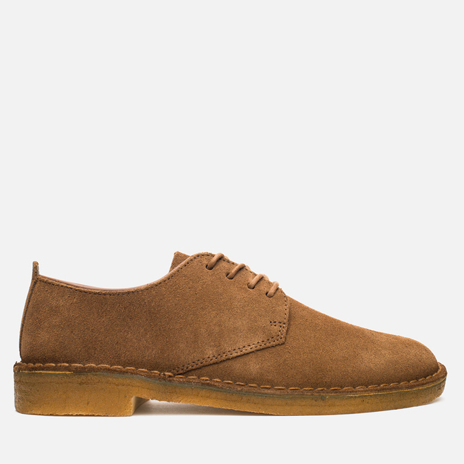 Clarks Originals Desert London Men's Shoes Cola Suede
