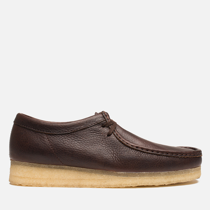 Мужские ботинки Clarks Originals Wallabee Brown